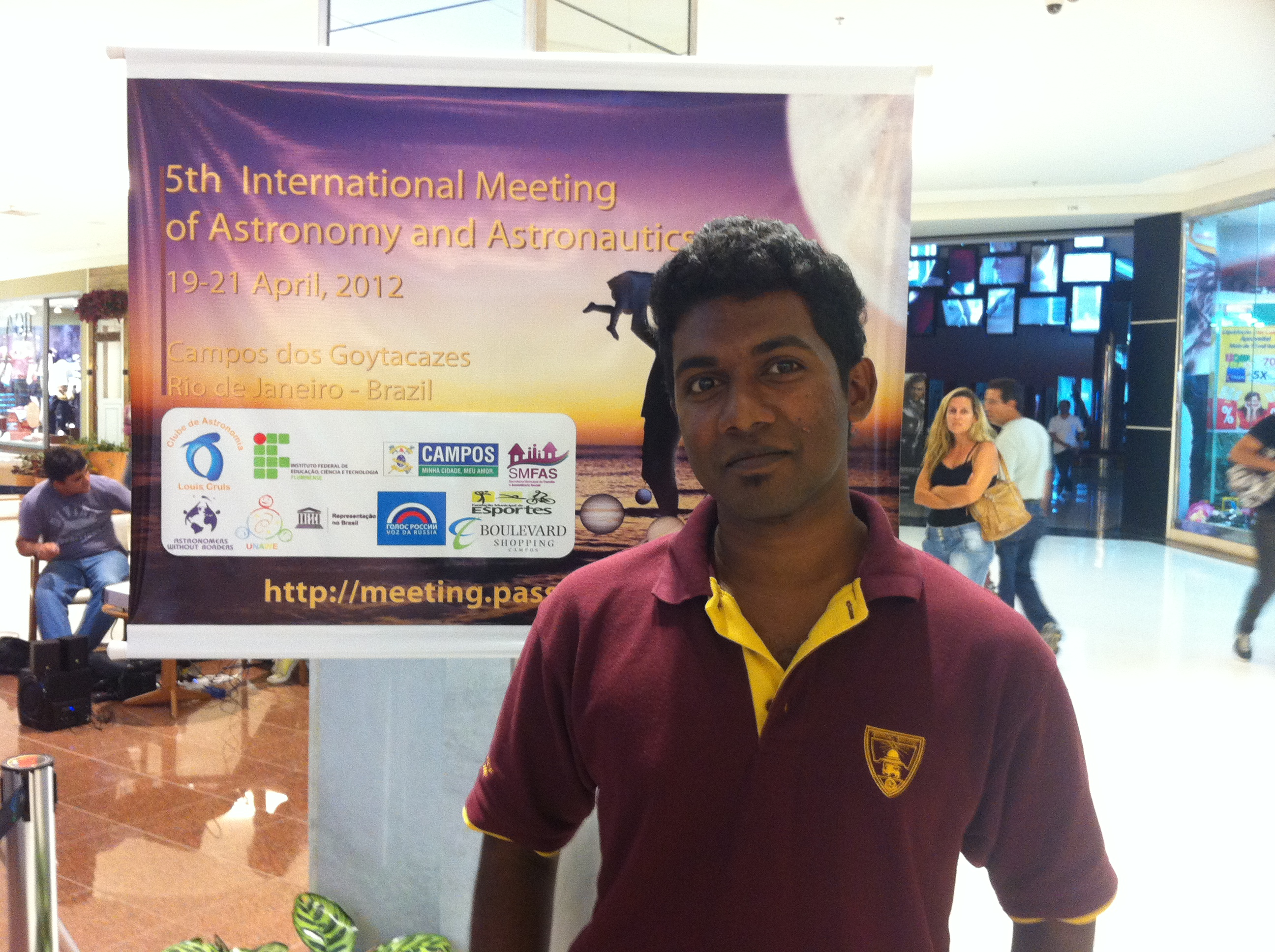 Golden Moments -5th International Meeting on Astronomy and Astronautics – 2012, Brazil